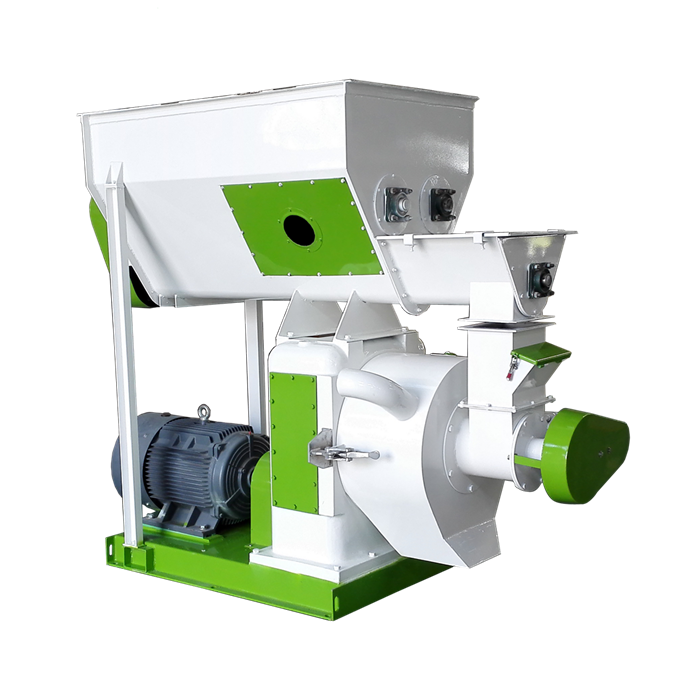 Wood Pellet Mill - 1-10 T/H Organic Fertilizer Manure Alfalfa Fuel Hay Rice Husk Chips Grass Biomass Sawdust Wood Pellet Machine