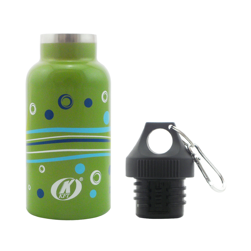 350ML double walls sports stainless steel water bottle with lid