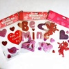 Factory supply valentine Cheap Creative Love Heart TPR Gel Cling Sticker