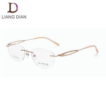 a472d8e6252 2018 Fashion Style Titanium Optical Frames Eyeglasses - Buy Sunfire ...