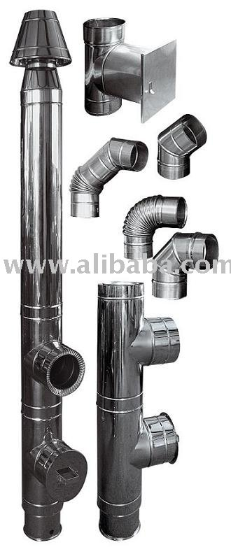 Stainless Steel Chimney Pipes And Flanges