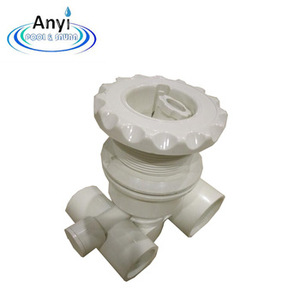 Wholesale Plastic Swimming Pool Massage Water Jet Nozzles/White color swimming pool accessories