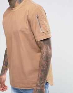 Cheap Custom Short Sleeve with Sleeve Pocket Work T-Shirt For Unisex OEM