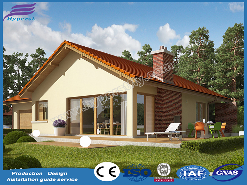 Natural Leisure Prefab House/Villa for Sale