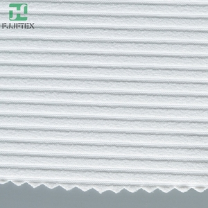 high nylon spandex stripe rib knit swimwear fabric