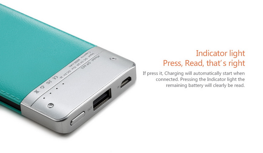 Latest design PC + ABS case Li-polymer battery china manufacturer power bank