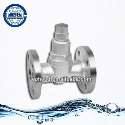 Adjustable Bimetallic Strip Type Steam Trap