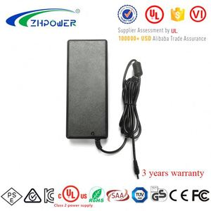 Universal plug Desk-top DC 24Volt 5000mA AC adapter 120W 24V 5 Amp power supply with CCC UL FCC CE RCM PSE KC Certified