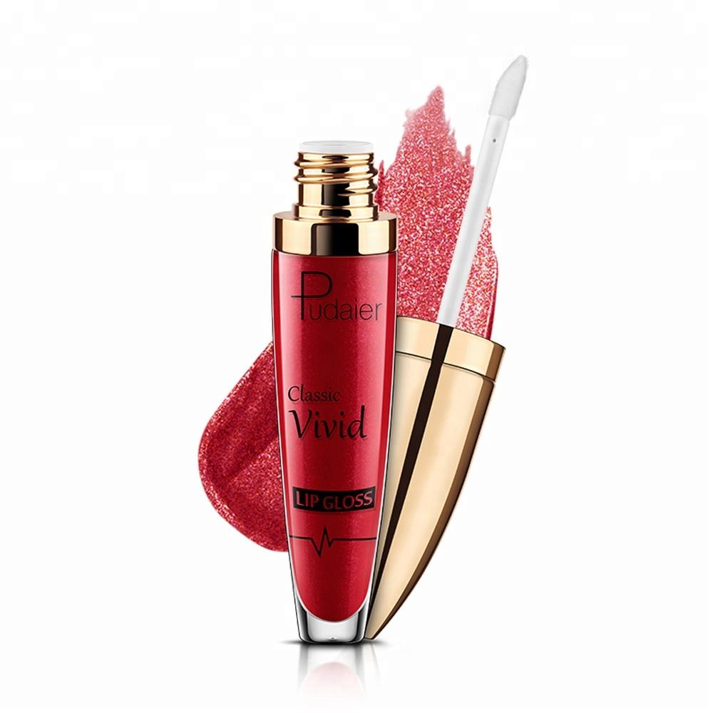 Wholesale Customize Your Logo Make Your Own Matte Lip Gloss Glitter Lipgloss фото