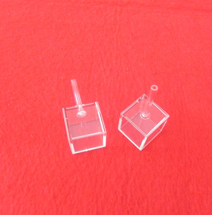 High quality cubic quartz cuvette for Atomic chamber