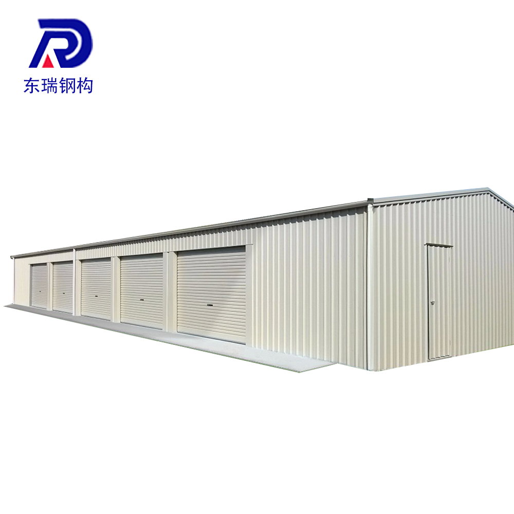easy assemble recycle used ready made prefab steel structure warehouse workshop