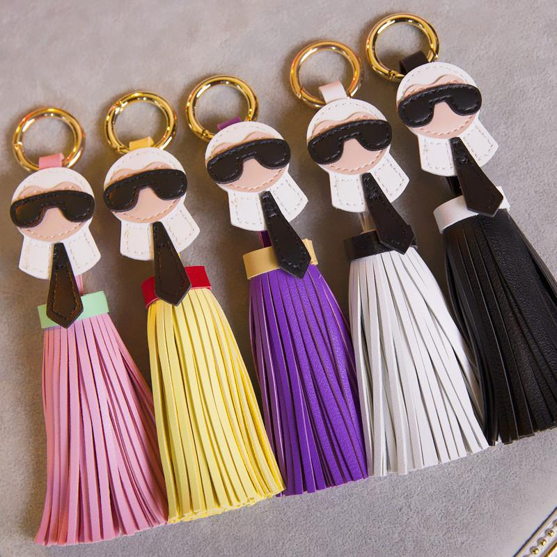 Brand new genuine leather tassel red leather tassel braided leather cord with tassel