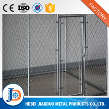 Heavy duty hot dip galvanized chain link fence manufacture