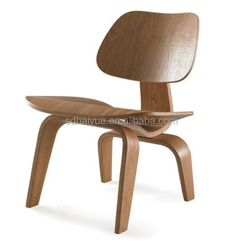 Dining Use Walnut Bent Plywood Chair, Plywood Dining Chair, Molded Plywood  Dining Chair