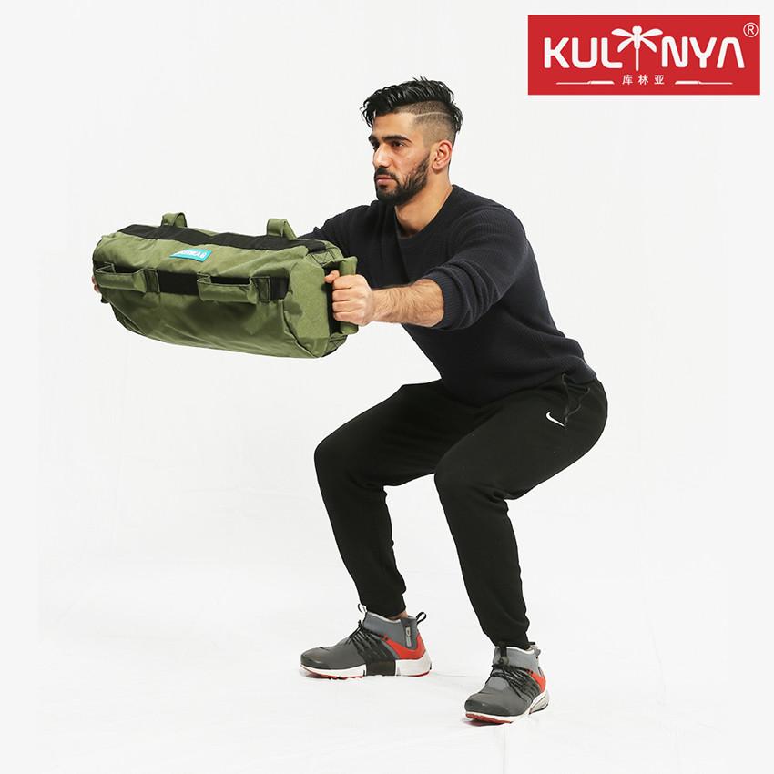 1000D Nylon gym Core Training fitness Sandbag with rubber handle