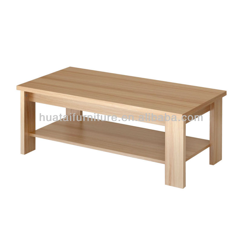 Minimalist Modern Rectangular Coffee Table Small Tea Sofa Side End Furniture