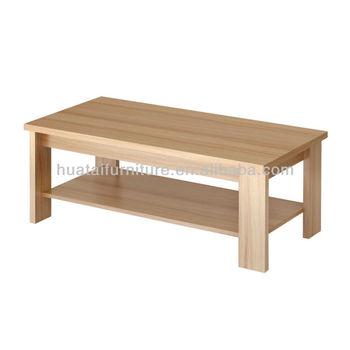 Minimalist Modern Rectangular Coffee Table Small Tea Table Sofa Side