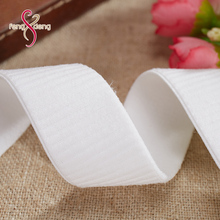 High quality custom soft 2.1cm adjustable bra elastic band for underwear, custom nylon underwear elastic waist band