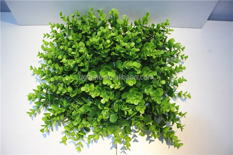 Home wall interior decor 25cm*25cm artificial fake synthetic boxwood mat ECG12 11A
