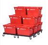 Stacking Moving Plastic Crate/ Plastic Container/ Tote Box