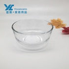 Wholesale glass mixing salad bowls 4-9 inch European restaurant serving bowl