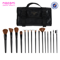 China manufacture Handmade good quality cosmetic brush professional 15pcs synthetic hair professional make up brushes set