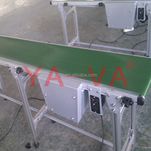 Aluminum Profile Structure PVC Belt Conveyor for Lights