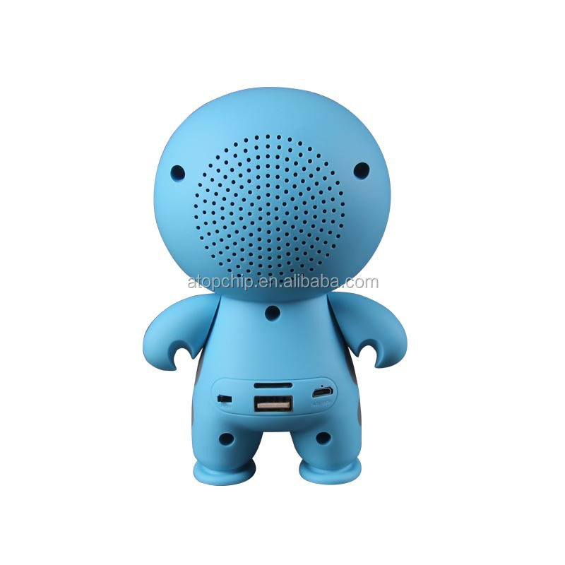 2017 New Product Cartoon Speaker High Quality Music Bluetooth Speaker