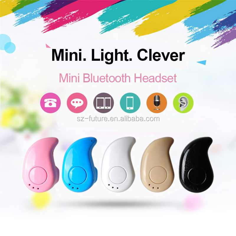 2017 One of the most popular sports mini bluetooth headset/headphone wireless bluetooth stereo earphone portable earbuds in ear