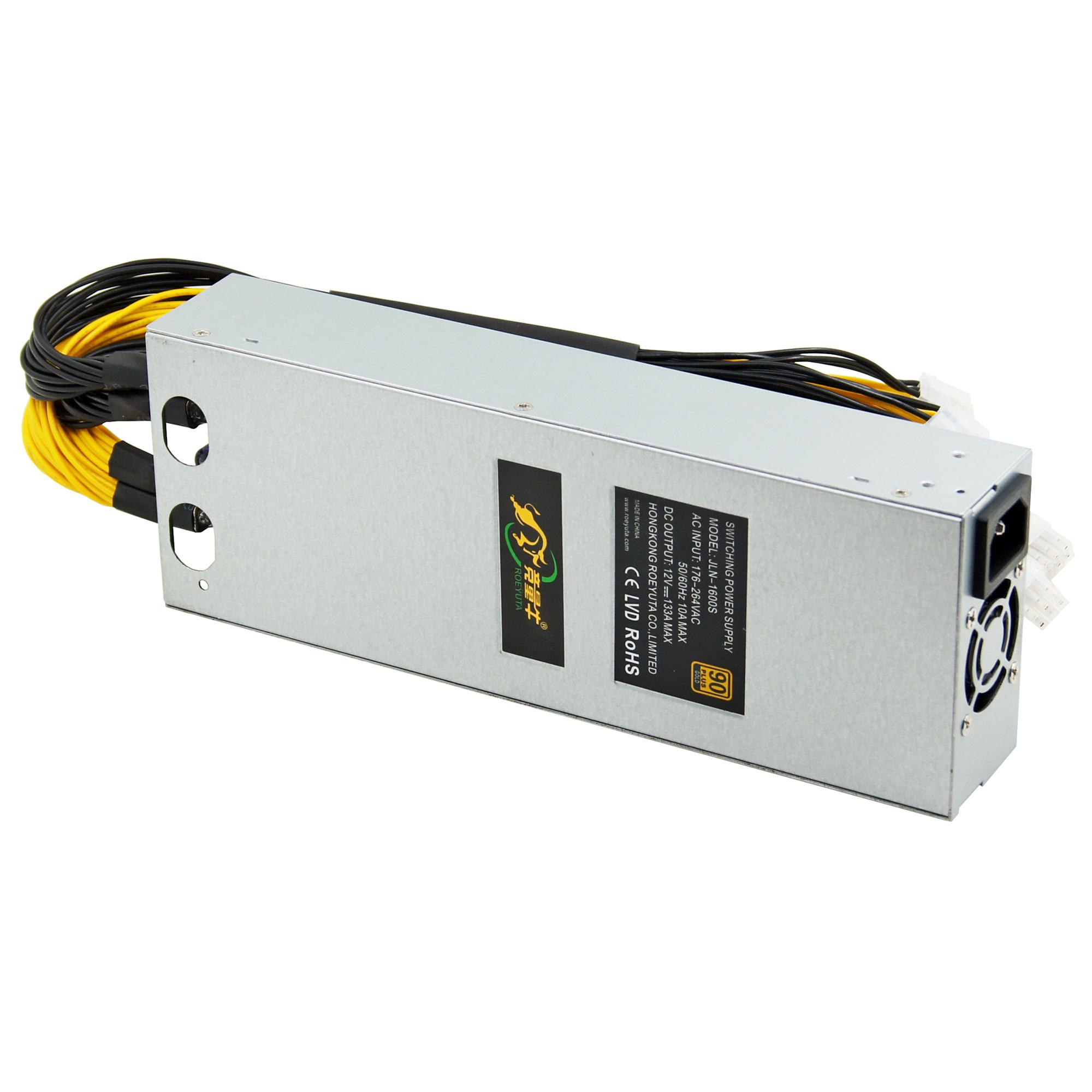 Switching power supply 12v 1600w mining psu apw3 for bitcoin mining machine dayun zig z1
