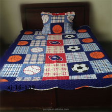 Colorful design baby boy quilt high-grade cotton handmade quilt