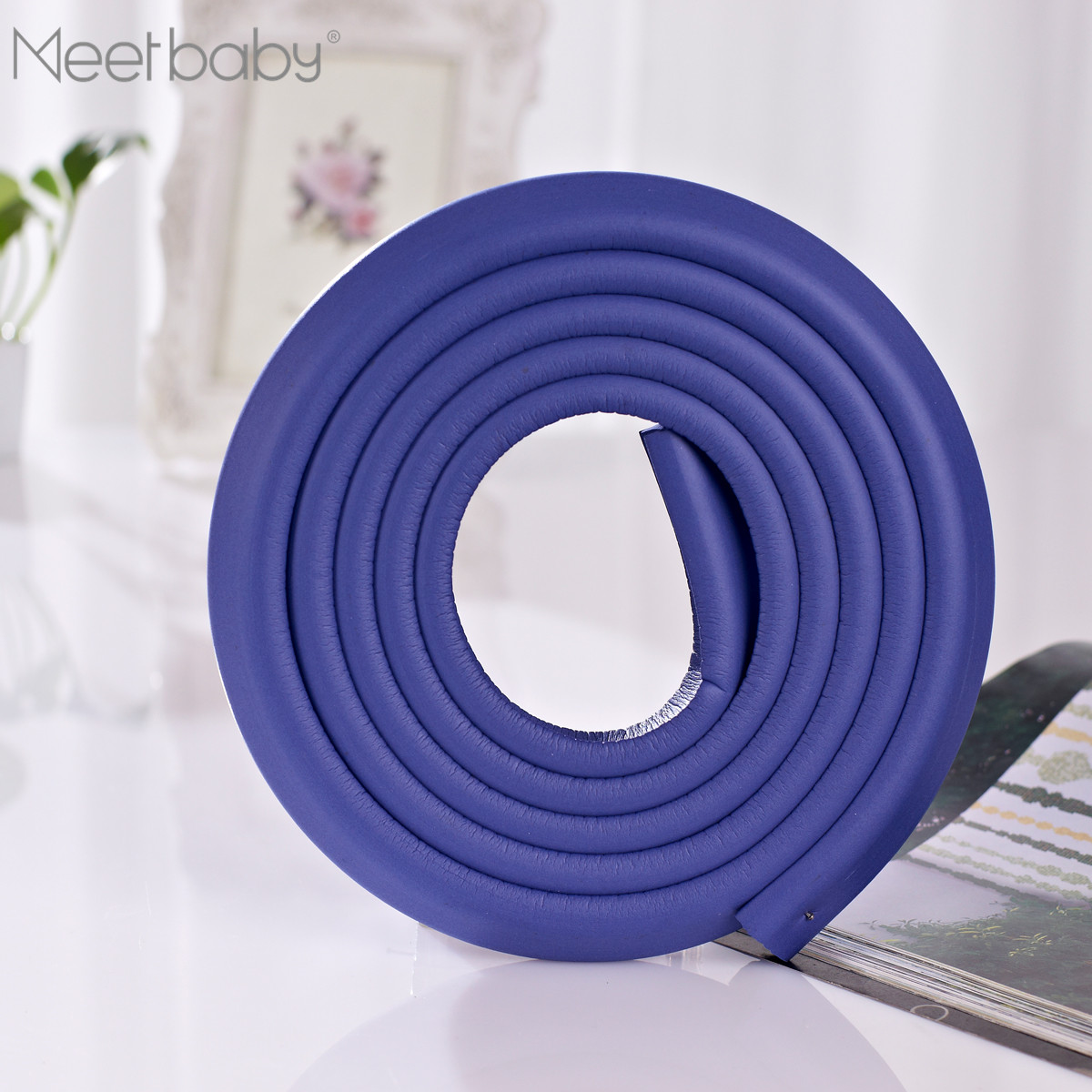 Rubber edge protector ,Mini tape edge guard; desk protector,colorful edge guard