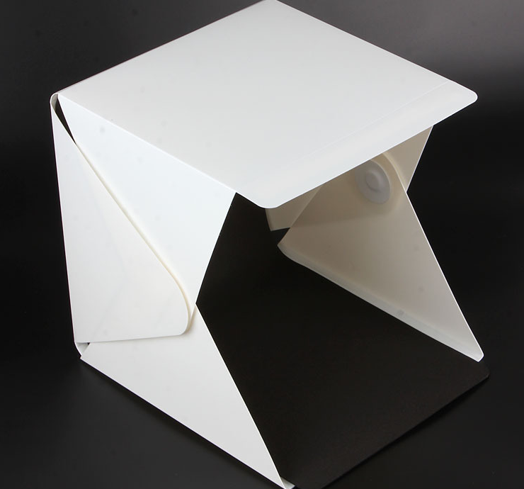 New Portable Mini Photo Studio Box Photography Backdrop ,20cm built-in Light Photo Box Wholesale