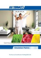 Terralast - High Quality High Coverage Waterbased Acrylic Matt Emulsion Paint For Interiors