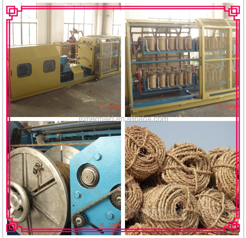 Automatic Denmark Sisal Rope Making Machine