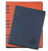 2020 factory price leather cover pu notebook with a4 a5 a6 size from dongguan