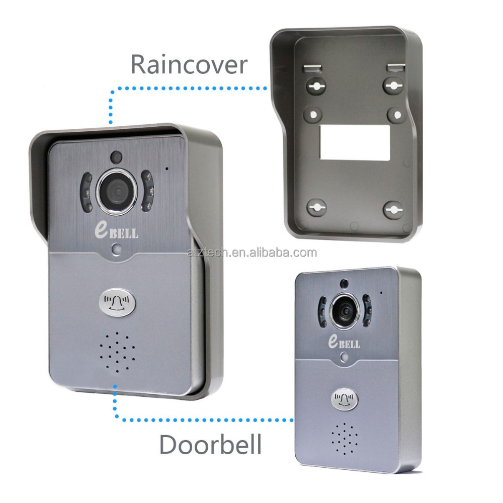 high-end wifi video door phone,security camera door phone, smart ip doorphone 2016 new design