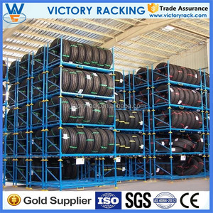 High Capacity Tire Rack storage shelving ISO CE and SGS certificate