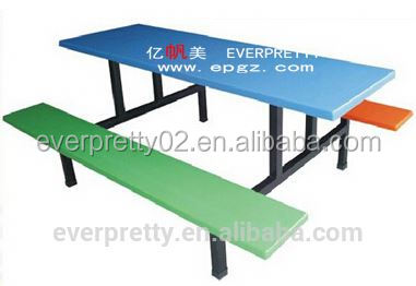 Canteen factory school food court chairs tables, chair and table for food court, cheap restaurant furniture for sales