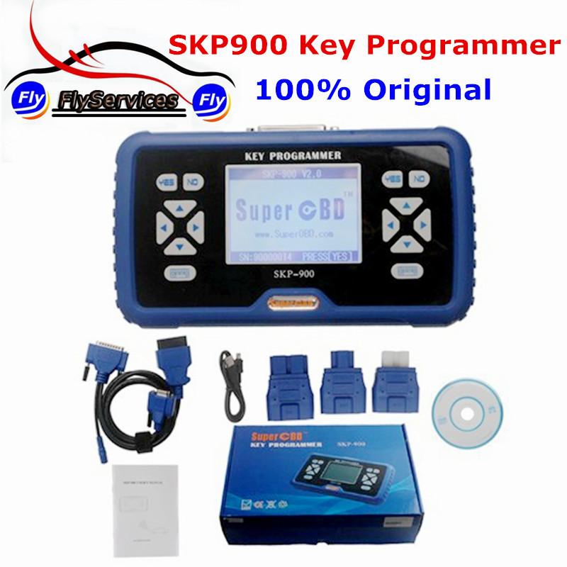 Новое поступление OBD2 SKP-900 автоматический ключевой программер V3.5 SKP900 скп 900 ключевых программер поддержка почти все автомобили SuperOBD SKP900 V3.5