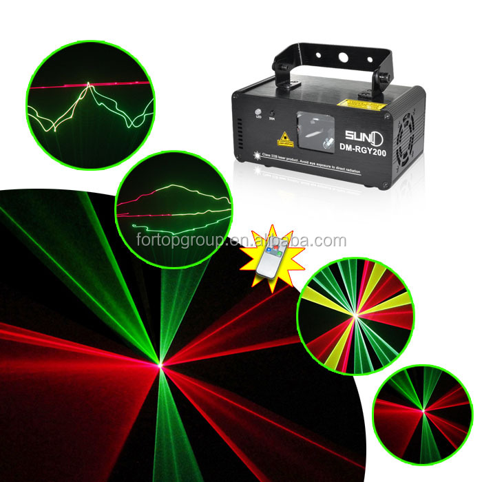 12V RGY dmx stage lighting disco lighting for party ,event with remote control