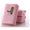 50x26cm Colorful Sweet Baby Bath Towel Newborn Cute Cotton Infant Hand Bath Toddler Soft Terry Children
