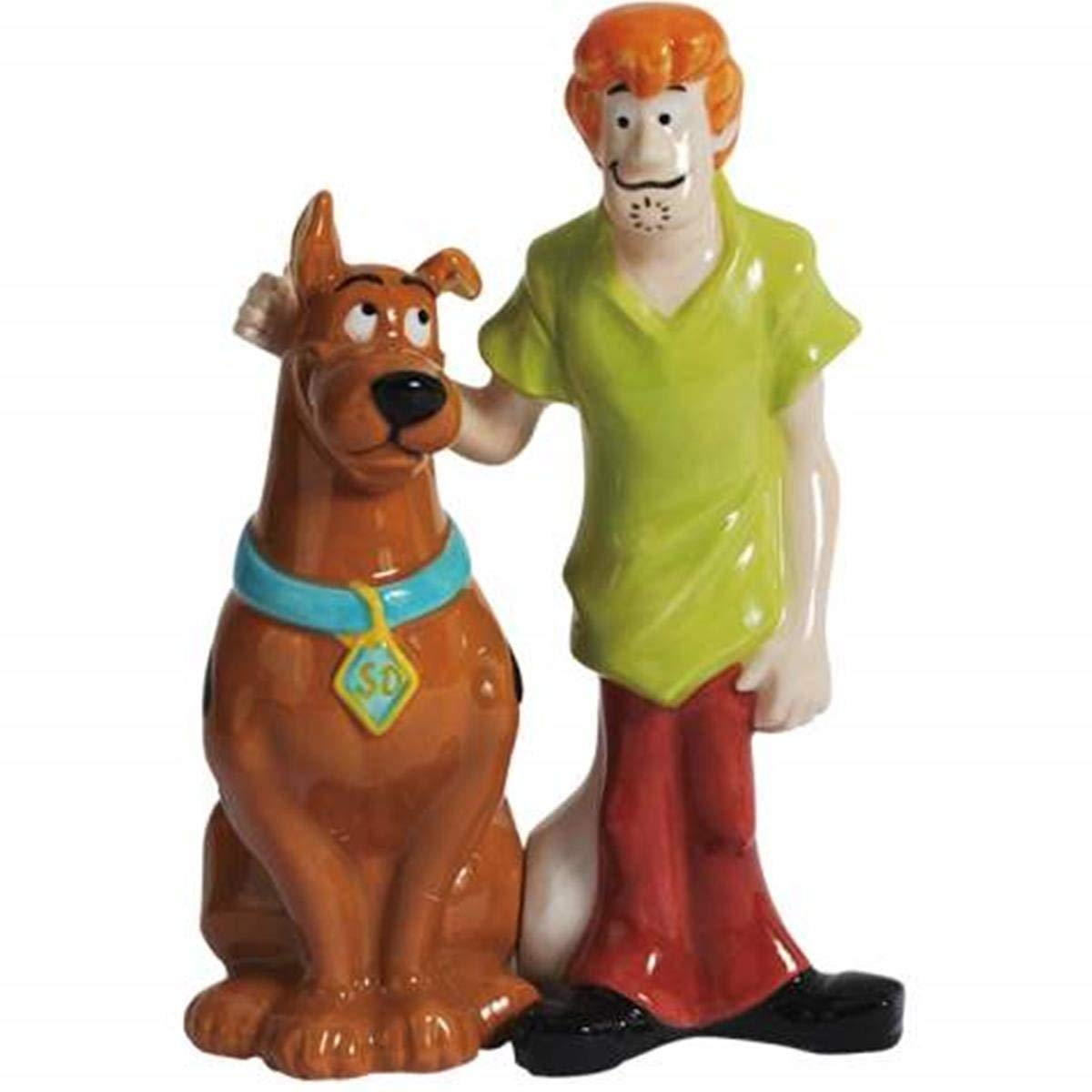 4.25 Inch Scooby Doo and Shaggy Standing Salt and Pepper Shakers