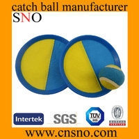 Sno 2016 Sticky and Toss catch ball plastic catch ball set with ball