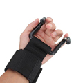 Sold in 2 pcs 1 pair Adjustable Fitness Wrist Support Weight Lifting Gloves Hooks Anti skid