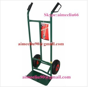 SGS test heavy duty hand pull trolley manufacturer