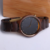 Shangheng high quality charming wood craft brand watches with custom logo
