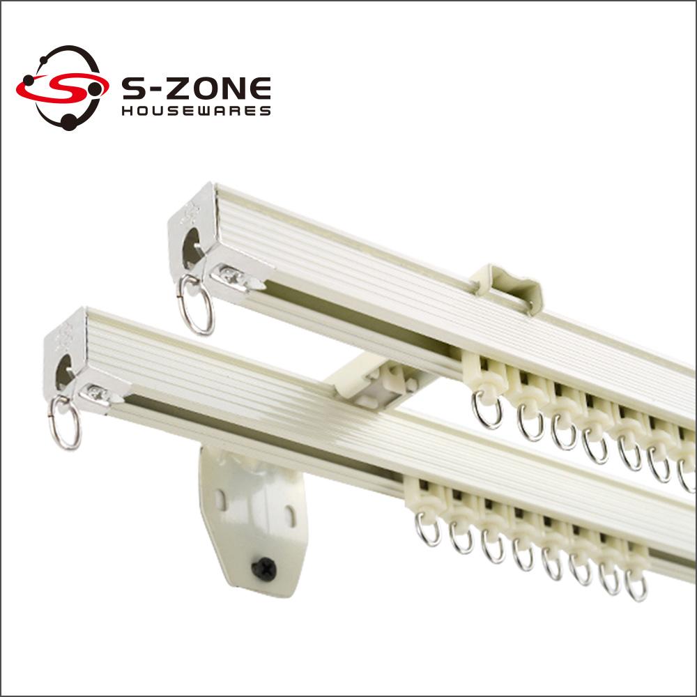 Ontdek de fabrikant platte gordijnrail van hoge kwaliteit voor ...