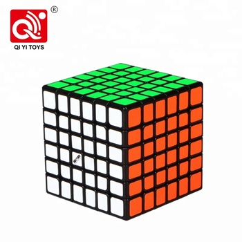 Mofangge wuhua 6*6 cube puzzle abs plastic toy with smaller size