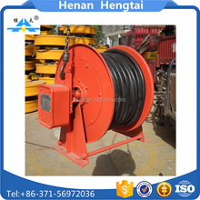 High quality aluminium cable drum,steel cable reel retractable cable drum table for hot sale